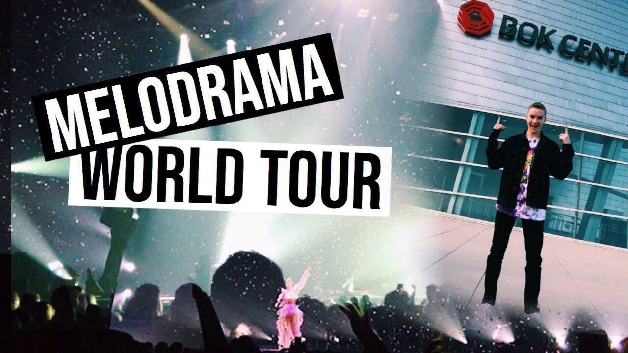 LORDE MELODRAMA WORLD TOUR: VLOG - YouTube