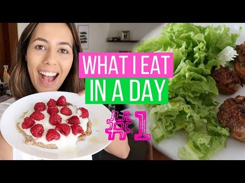 WHAT I EAT IN A DAY - Receitas fáceis e saudáveis!  Bárbara Corby