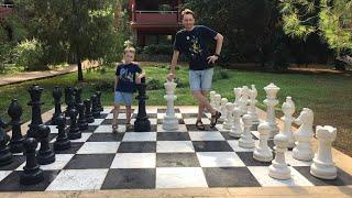 ГИГАНТСКИЕ шахматы Макгонагалл Играем друг против друга Изнанка СТРИМ