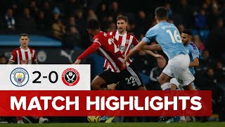 Man City 2-0 Sheffield United | City secure controversial win over the Blades | Highlights
