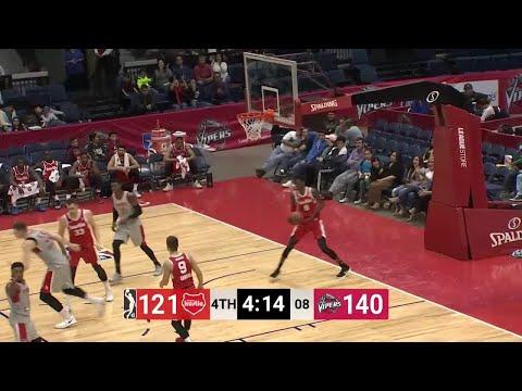 Zhou Qi (21 points) Highlights vs. Memphis Hustle