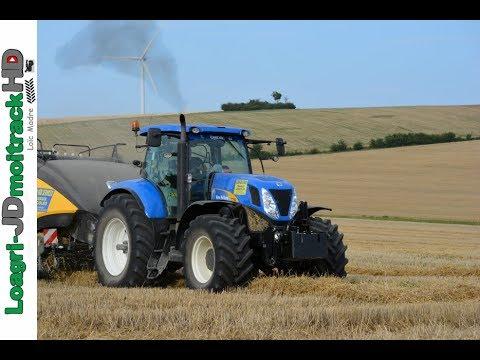 Paille 2017 : New Holland T7060 & BB1290 Plus | ETA Ugny Agri Services !