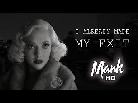 "Mank (2020) – ""I Made My Exit"" Scene   Amanda Seyfried, Gary Oldman"