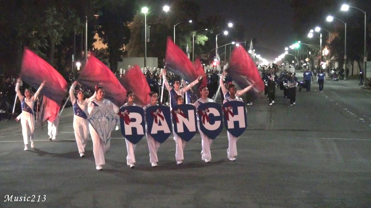 Diamond Ranch HS - Queen City - 2017 Pomona Christmas Parade - YouTube