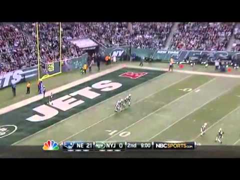 2012 Jets vs Patriots Thanksgiving Highlights with Circus Theme Music