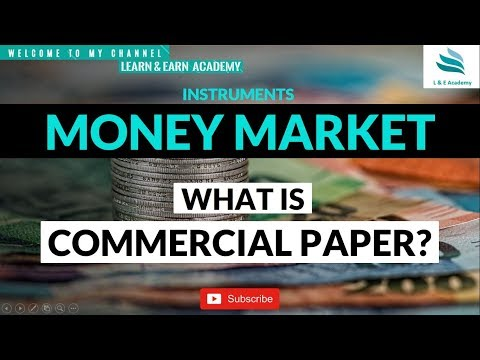 What is a Commercial Paper ?