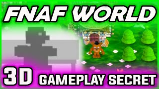 FNAF World 3D NEW EASTER EGG | Scott's SECRET | FNAF World Gameplay Walkthrough