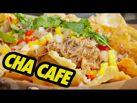 FUNG BROS FOOD: Mexican-Asian Fusion Food (Cha Cafe)