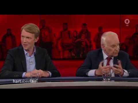 Asselborn der Antideutsche - Bei Hart aber Fair vom 27.03.2017