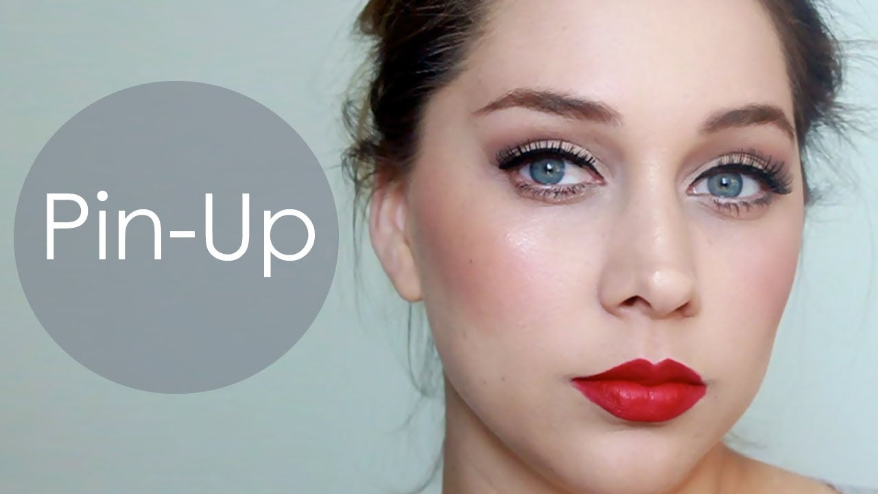 maquillaje pin up ojos