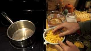 Making Yellow Daal (or Split Pea Daal)