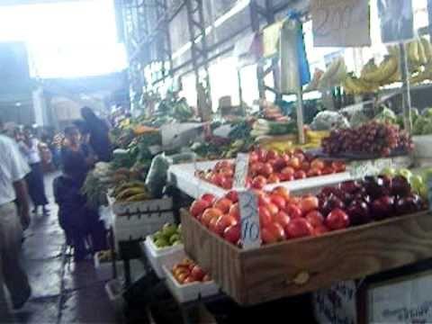 The San Fernando Market, Trinidad