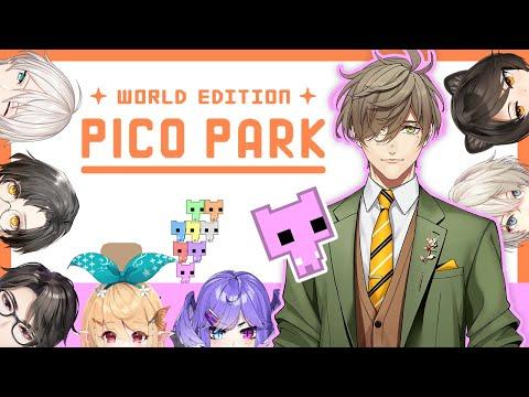 【PICO PARK】NIJISANJI International PICO PARK Collab!!【NIJISANJI JP/ Oliver Evans】