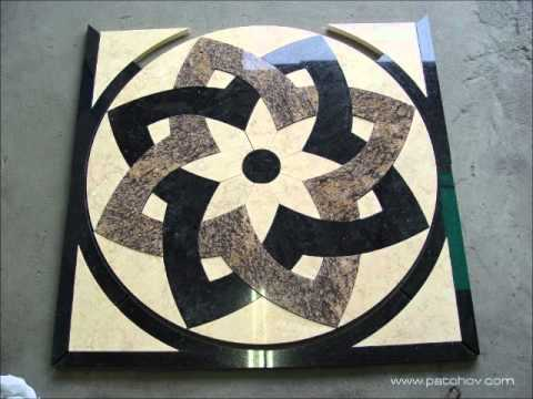 Marble Medallion Project Waterjet Cutting Www Patchov
