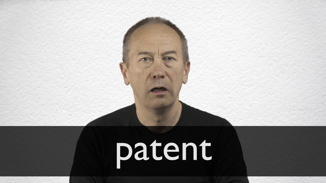 How to pronounce PATENT in British English