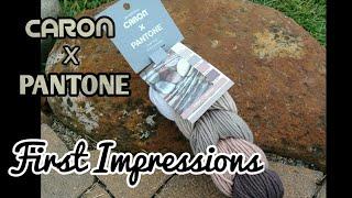 Caron x Pantone - First Impressions