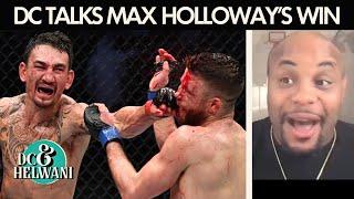 Daniel Cormier reacts to Max Holloway's win over Calvin Kattar   DC & Helwani   ESPN MMA