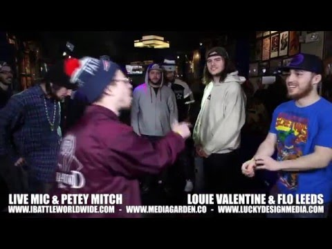 iBattle Worldwide Presents: Live Mic & Petey Mitch Vs Louie Valentine & Flo Leeds