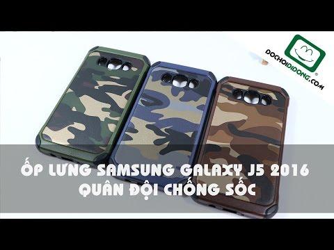 Ốp lưng Samsung Galaxy J5 2016 quân đội chống sốc - Đồ Chơi Di Động .com
