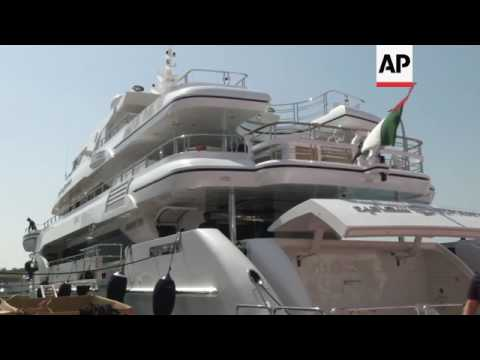 Super rich gather in Dubai for boat show