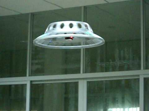 how to make a homemade ufo fly