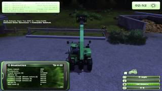 Farming Simulator 2013 100% Productivity Cows Feeding and Straw