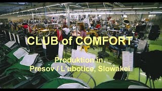 Produktion Club of Comfort