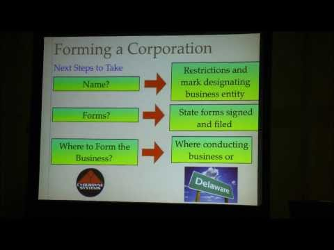 The Legal Aspects of Making You and Your Business Famous :: 2013 NY Comic Con