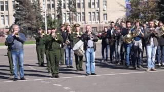 Генеральная репетиция парада духовых оркестров в Саратове. Часть 3(Подробнее - http://www.sarinform.ru/news/2016/10/03/161585., 2016-10-03T10:27:27.000Z)