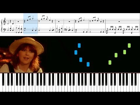 Moonlight Shadow (Mike Oldfield) - Piano Tutorial + Sheets