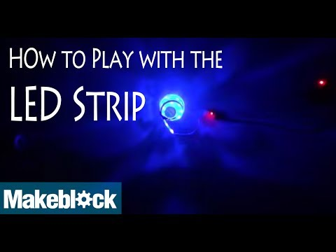 How to play with the LED RGB Strip