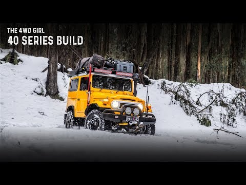 The 4WD Girl - 40 Series Build
