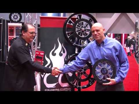 Lyndall Racing Brakes with Two Wheel Thunder TV @ V-Twin Show 2013