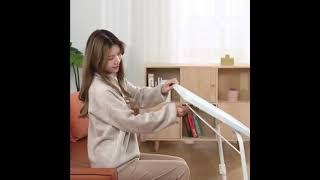 심플 리프팅 테이블 높이조절 소파 미니 노트북 선반