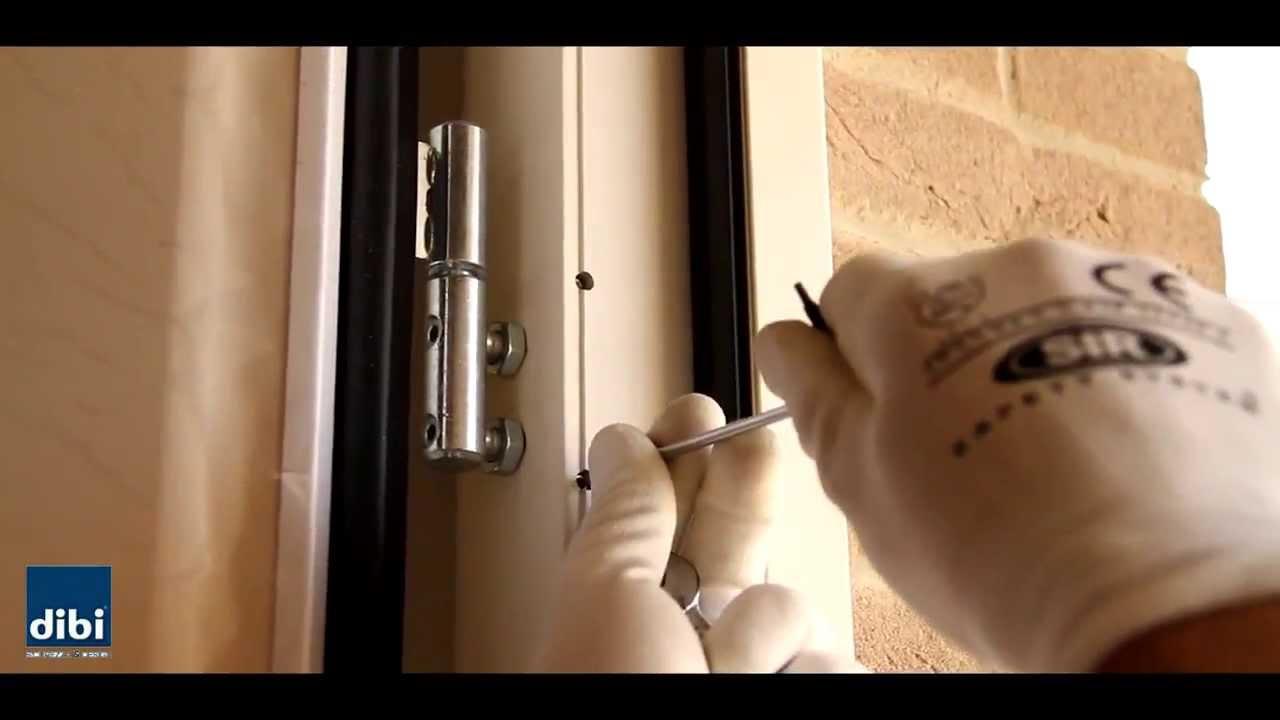 Montaggio Porta a doppia anta DI.BI.Porte Blindate - YouTube