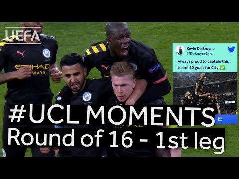 HAALAND, GNABRY, MAN. CITY: #UCL R16 BEST MOMENTS (1st leg)
