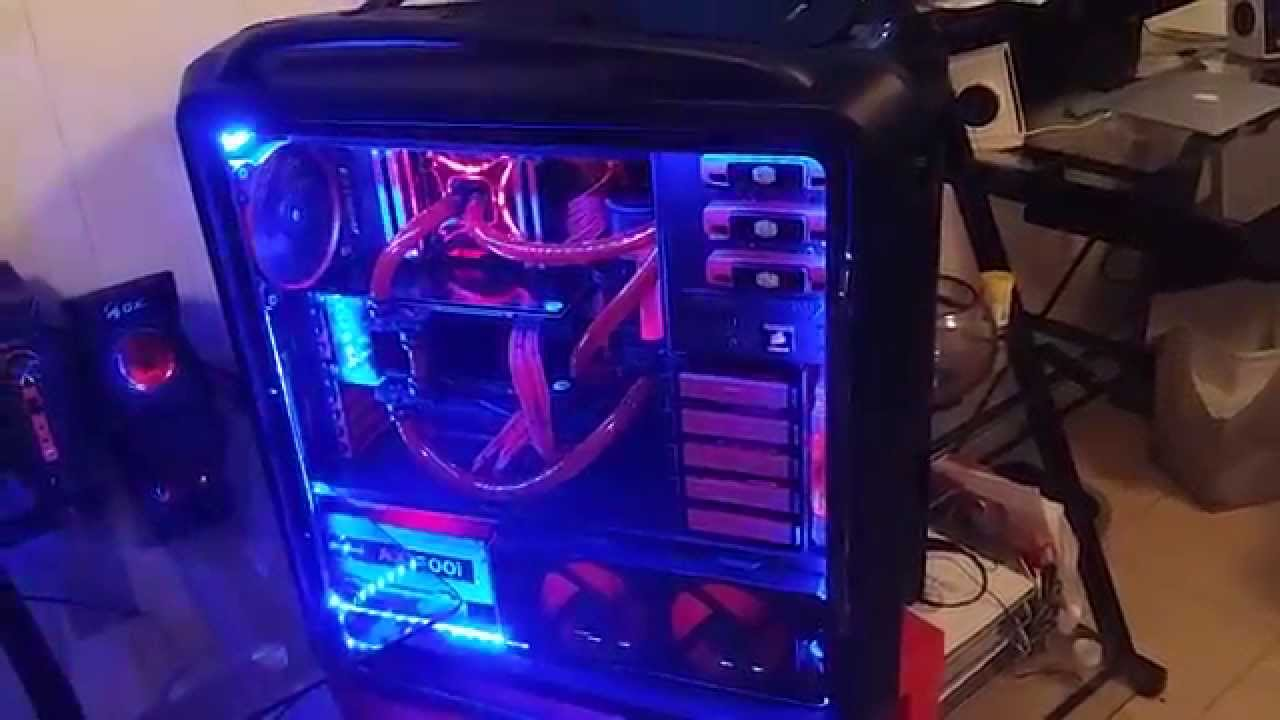 Ultimate Build X99 Ddr4 Gtx 980 Sli Water Cooled Youtube
