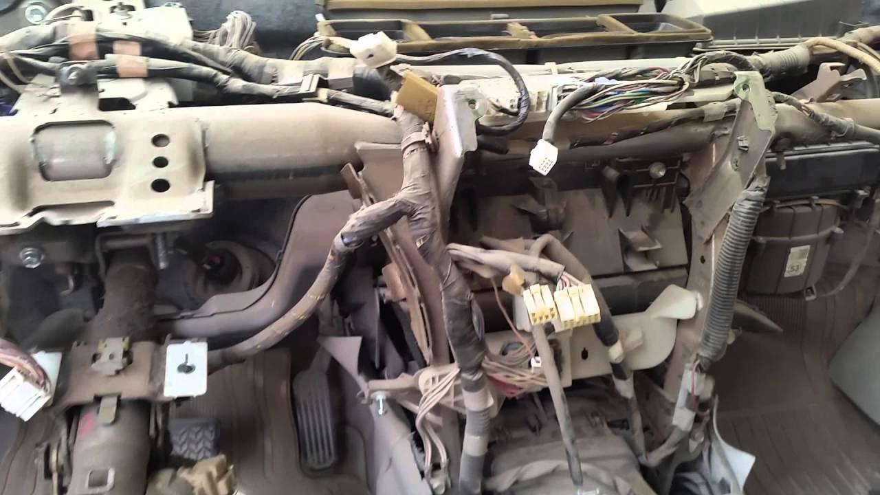 Dodge Ram 1500 Blend Door Lcation
