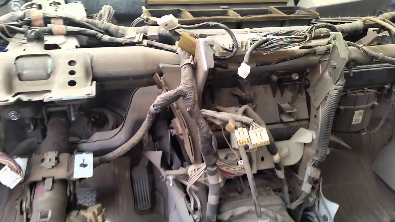 Toyota Camry 2007 Evaporator Change Youtube