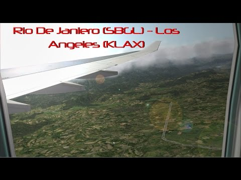 UNREAL! REALISM! X Plane 10 | Rio De Janiero to Los Angeles | A330 Part 1