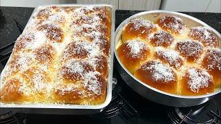 Aprenda a Fazer Este Pão Doce Super Fácil e Delicioso