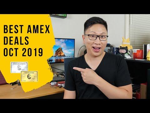 Best Amex Deals Oct 2019