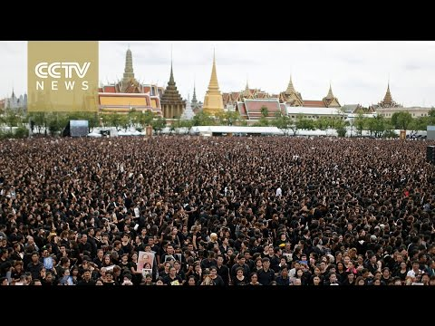 Thousands gather in Bangkok to pay tribute to Thailand