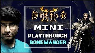Diablo 2: Hell Bone Necromancer In 40 Minutes