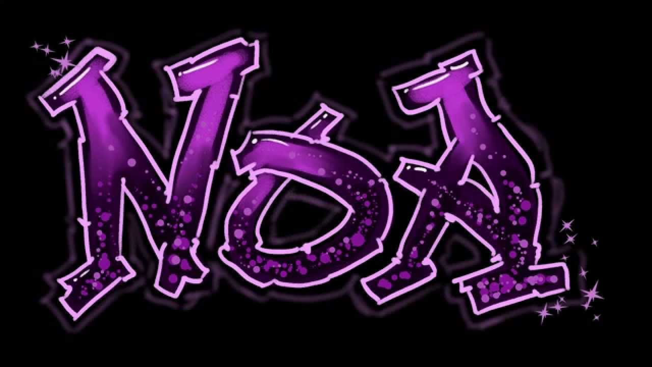 R Graffiti Letters Personalized Name Art ...