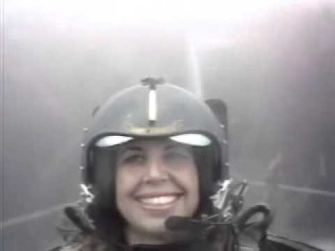 Reporter Passes Out During Official Blue Angels Ride