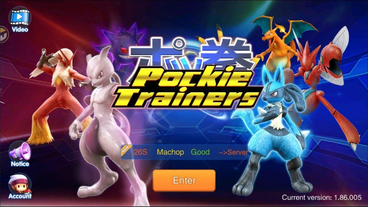 Trải Nghiệm Game Pokemon Nhập Vai – Pockie Trainers