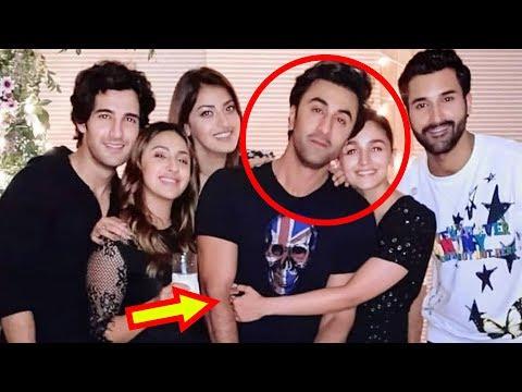 Alia Bhatt Gives Tight Hug To Ranbir Kapoor At Akanksha Ranjan's Party Mp3