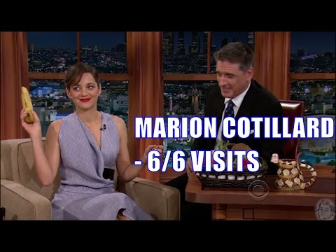 Marion Cotillard  Her English Gets Better Each Visit  66 Appearances  ReUploaded HD