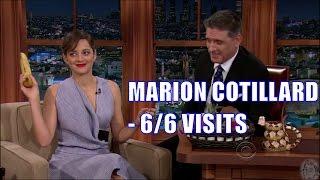 Marion Cotillard - Her English Gets Better Each Visit - 6/6 Appearances - Re-Uploaded [HD]
